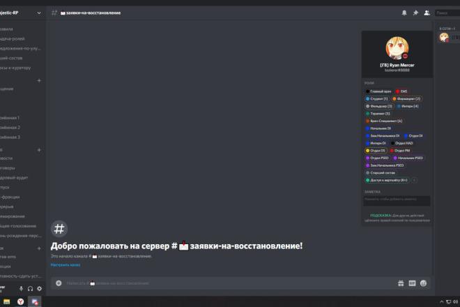 Создаю недорогие Discord-сервера. Настройка ролей под вас 2 - kwork.ru