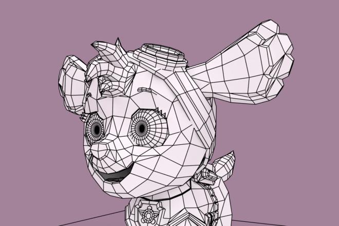 3D персонаж для игрового проекта 5 - kwork.ru