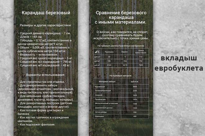Дизайн листовки, флаера. Макет готовый к печати 14 - kwork.ru