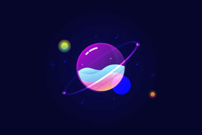 Векторная отрисовка растровых логотипов, иконок 41 - kwork.ru