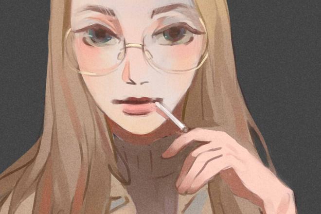 Создам ваш портрет в стиле аниме 8 - kwork.ru