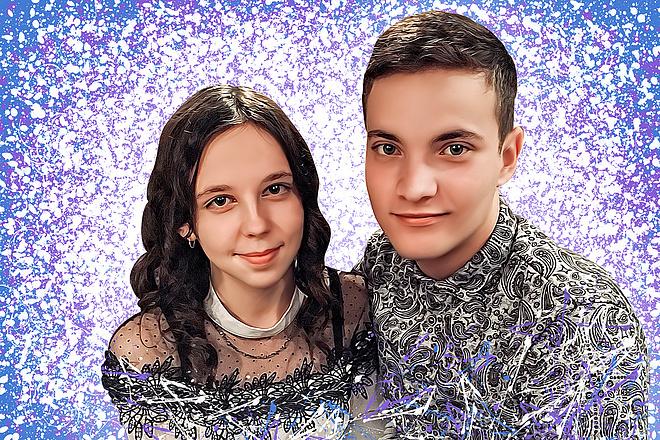 Дрим Арт портрет 62 - kwork.ru