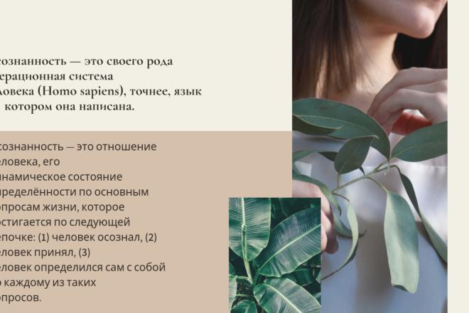 Стильный дизайн презентации 289 - kwork.ru