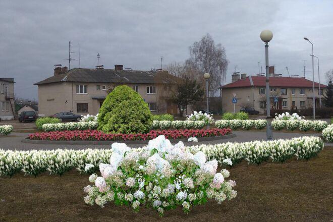 Визуализация благоустройства и озеленения территории, фото-эскиз 16 - kwork.ru