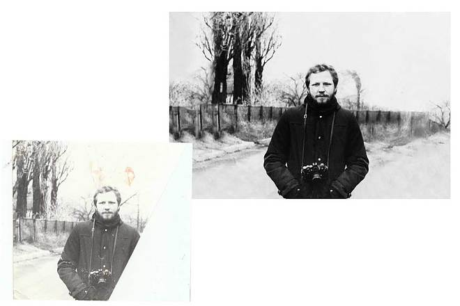 Новая жизнь старым снимкам. Реставрация фотографий любой сложности 1 - kwork.ru