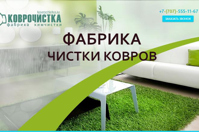 Качественная копия лендинга с установкой панели редактора 19 - kwork.ru