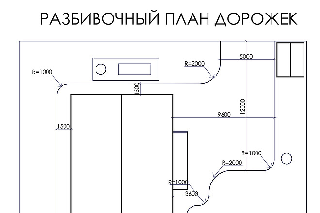 Проект ландшафтного дизайна участка 11 - kwork.ru