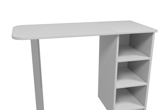 Визуализация мебели, предметная, в интерьере 2 - kwork.ru