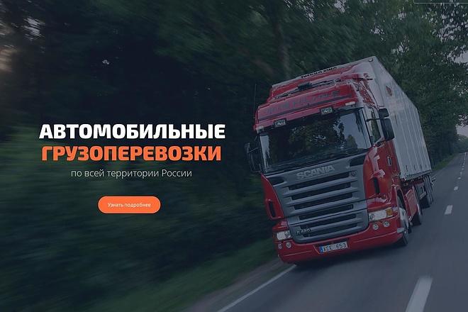 Продающий сайт - Лендинг под ключ, для любых целей 44 - kwork.ru