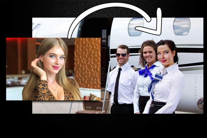 Реалистичная замена лица на фото 2 - kwork.ru