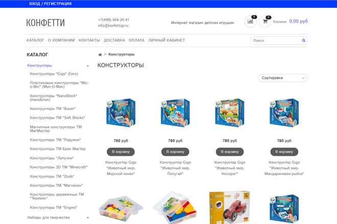 Профессионально создам интернет-магазин на insales + 20 дней бесплатно 70 - kwork.ru