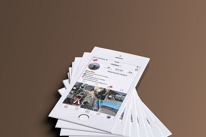 Макет визитки 10 - kwork.ru