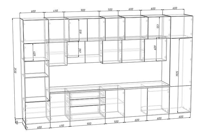 Конструкторская документация для изготовления мебели 93 - kwork.ru