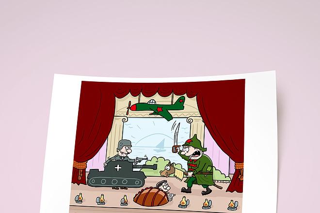 Нарисую для Вас иллюстрации в жанре карикатуры 178 - kwork.ru
