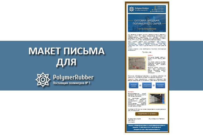 Создам html письмо для e-mail рассылки -адаптация + дизайн 20 - kwork.ru