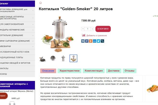 Создам интернет-магазин на платформе Insales 1 - kwork.ru