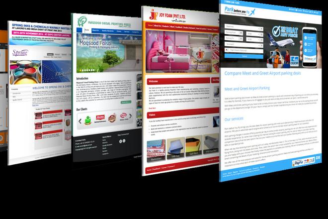 Вышлю коллекцию из 120 шаблонов Landing page 12 - kwork.ru