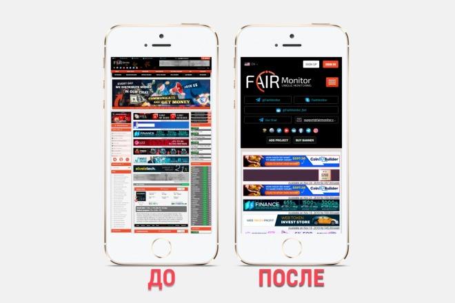Адаптация сайта под все разрешения экранов и мобильные устройства 14 - kwork.ru
