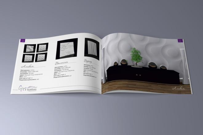 Верстка каталога, журнала, меню 2 - kwork.ru