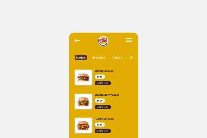 Разработка дизайна для вашего мобильного приложения 8 - kwork.ru