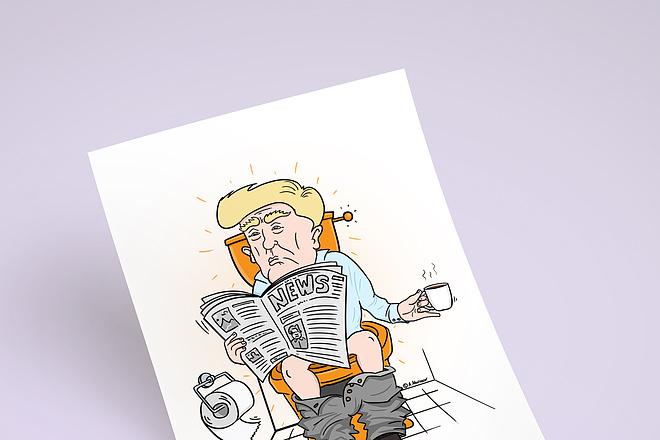 Нарисую для Вас иллюстрации в жанре карикатуры 188 - kwork.ru