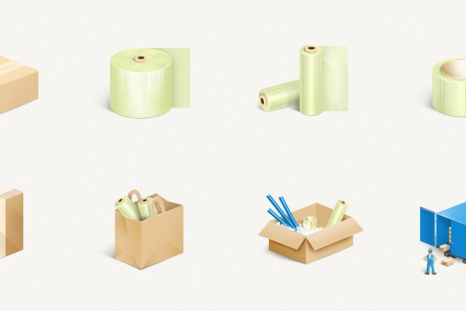 Нарисую эксклюзивную растровую иконку для вашего сайта 23 - kwork.ru