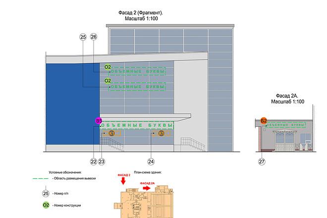 Проект размещения рекламных конструкций 2 - kwork.ru