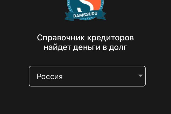 Разработка мобильного приложения под ключ 10 - kwork.ru