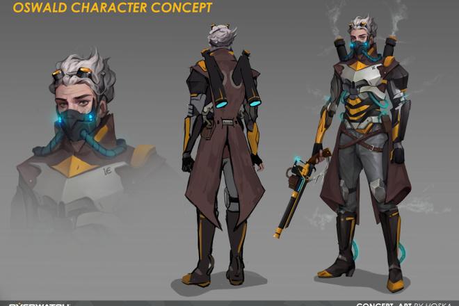 Концепт арт и Дизайн персонажа 13 - kwork.ru
