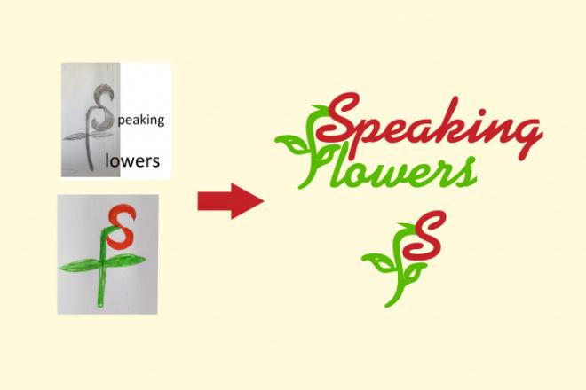 Нарисую логотип по вашему эскизу или рисунку. Быстро и качественно 5 - kwork.ru
