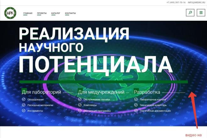 Сайт для любого бизнеса на Wordpress 20 - kwork.ru