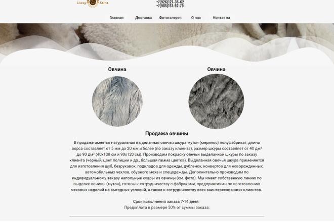 Создание сайта на WordPress 56 - kwork.ru