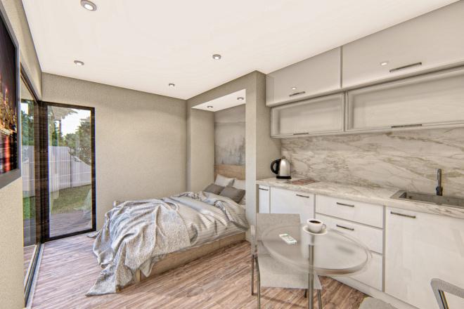 Фотореалистичная 3D визуализация экстерьера Вашего дома 183 - kwork.ru