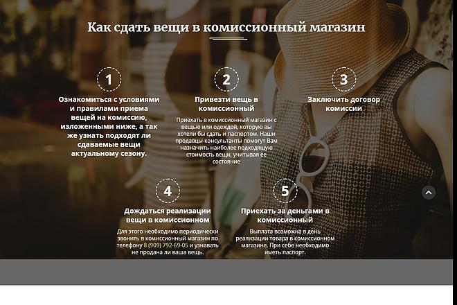 Сайт под ключ. Landing Page. Backend 155 - kwork.ru
