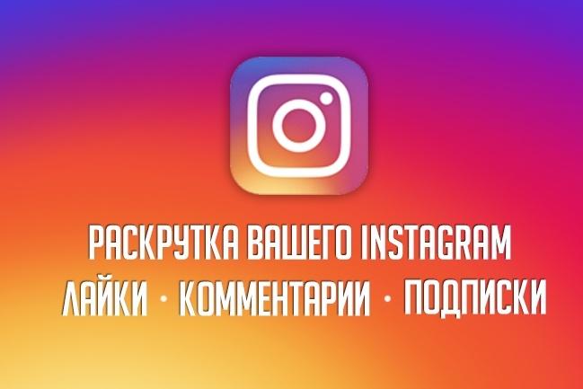 Фриланс: Раскрутка вашего instagram 5000 подписчиков с гарантией + ...