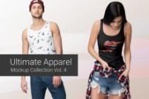Продам коллекцию шаблонов Photoshop для визуализации дизайна футболок 22 - kwork.ru