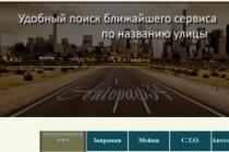 Разработка сайтов визиток 14 - kwork.ru