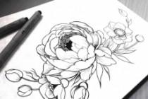 Нарисую рисунок или эскиз в ручной технике красиво и быстро 65 - kwork.ru