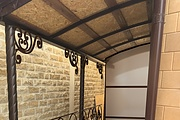 Сделаю 3d модель кованных лестниц, оград, перил, решеток, навесов 64 - kwork.ru
