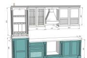 Проект корпусной мебели, кухни. Визуализация мебели 131 - kwork.ru