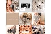 Обработаю фотографии для вашего блога Instagram 24 - kwork.ru