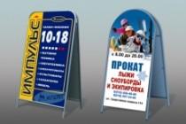 Дизайн наружной рекламы 106 - kwork.ru