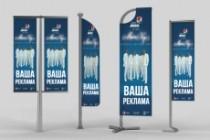 Дизайн наружной рекламы 107 - kwork.ru
