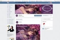 Дизайн группы вконтакте Обложка+баннер+миниатюра или аватар+баннер 21 - kwork.ru