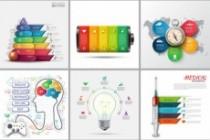 Набор инфографики. 13 тематик, 800 шаблонов, 2 пакета иконок 72 - kwork.ru