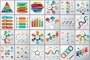 Набор инфографики. 13 тематик, 800 шаблонов, 2 пакета иконок 81 - kwork.ru