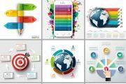 Набор инфографики. 13 тематик, 800 шаблонов, 2 пакета иконок 83 - kwork.ru