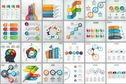 Набор инфографики. 13 тематик, 800 шаблонов, 2 пакета иконок 84 - kwork.ru