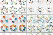 Набор инфографики. 13 тематик, 800 шаблонов, 2 пакета иконок 86 - kwork.ru
