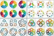 Набор инфографики. 13 тематик, 800 шаблонов, 2 пакета иконок 87 - kwork.ru